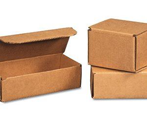 "12"" x 6"" x 4"" Corrugated Mailer - Kraft  (50 per bundle)"