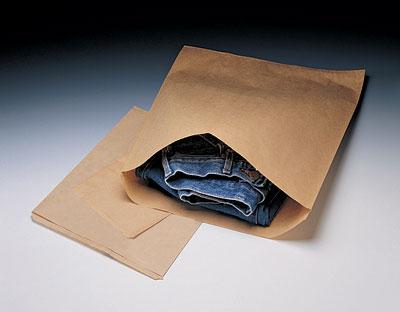 "10"" x 13"" Kraft Merchandise Paper Bag (30 lb.) (500 per sleeve)"