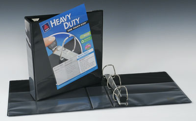 """3"""" Avery® One Touch™ EZD® 3-Ring View Binder - Black"""