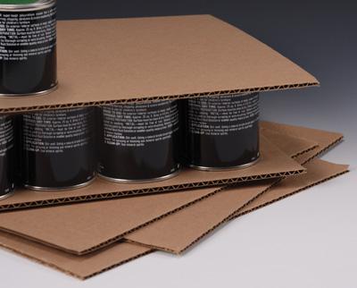"""22"""" x 22"""" Corrugated Pad  (50 per bundle)"""