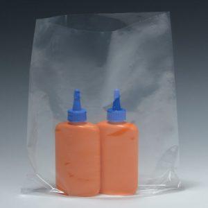 "8"" x 22"" Low Density Flat Poly Bag (1 mil) (1000 per carton)"