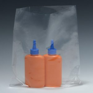 "3"" x 16"" Low Density Flat Poly Bag (1 mil) (1000 per carton)"