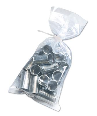 "11"" x 14"" Low Density Flat Poly Bag (3 mil) (1000 per carton)"