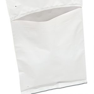"10"" x 13"" Coextruded White Poly Mailing Bags for Autobag Machines (2.5 mil) (750 Bags)"