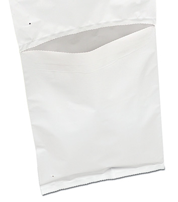 """10"""" x 13"""" Coextruded White Poly Mailing Bags for Autobag Machines (2.5 mil) (750 Bags)"""