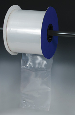 """6"""" x 8"""" Low Density Bag with  1/8"""" Vent Hole for Autobag® Machines (1.5 mil) (1750 per roll)"""