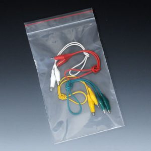 "10"" x 13"" Minigrip® Red Line™ Zipper Bag without Hang Hole (6 mil) (500 per carton)"