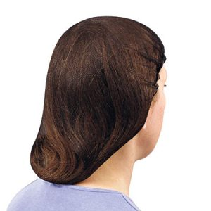 "22"" Nylon Mesh Hair Net - Brown (144 per box)"