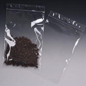 "12"" x 12"" High Clarity Polypropylene Zipper Bag with Hang Hole (2 mil) (1000 per carton)"